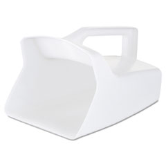 Rubbermaid® Commercial SCOOP UTILITY 64OZ WH Bouncer Bar-utility Scoop, 64oz, White