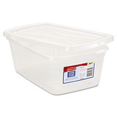 RUB 3Q31CLE Rubbermaid Clever Store Snap-Lid Container RUB3Q31CLE