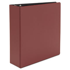 Universal Suede Finish Vinyl Round Ring Binder, 3