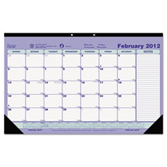 Brownline Monthly Desk Pad Calendar, 17-3/4 x 10-7/8, 2013