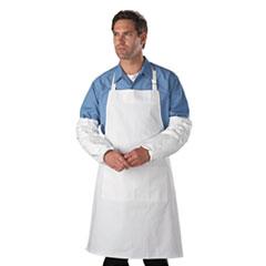 "DuPont® SLEEVE TYVEK 18""ELS WR-TP Tyvek Sleeves, Hd Polyethylene, White, One Size Fits All, 200-carton"