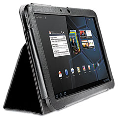 Kensington Folio Case/Stand for Motorola Xoom, Black