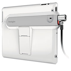 Kensington SecureBack Security Case with ClickSafe Lock for iPad 2, White