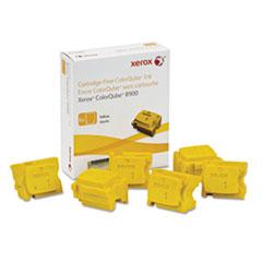 Xerox 108R01016 Ink Stick, 16900 Page-Yield, Yellow, 6/Box