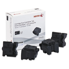 Xerox 108R00994 Ink Stick, 9000 Page-Yield, Black, 4/Box
