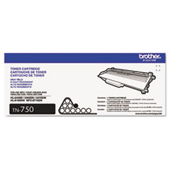 Brother TN750 (TN-750) High-Yield Toner, 8000 Page-Yield, Black