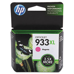 HP 933XL, (CN055AN) High Yield Magenta Original Ink Cartridge