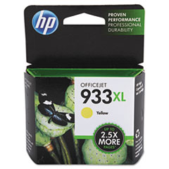 HP 933XL, (CN056AN) High Yield Yellow Original Ink Cartridge
