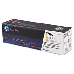 CE322AG (HP 128A) Government Toner Cartridge, 1,300 Page-Yield, Yellow