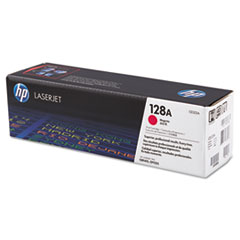 CE323AG (HP 128A) Government Toner Cartridge, 1,300 Page-Yield, Magenta
