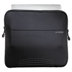 "Samsonite® CASE SLEEVE 14'NOTEBK BK 14"" Aramon Laptop Sleeve, Neoprene, 14-1-2 X 1 X 10-1-2, Black"