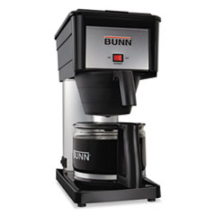 BUNN 10-Cup Pour-O-Matic Coffee Brewer, Black