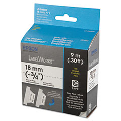 Epson LabelWorks Folder Tab LC Tape Cartridge, 3/4