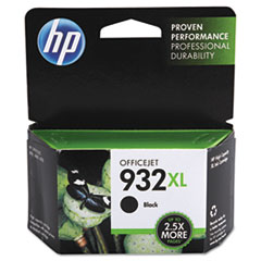 CN053AN140 (HP 932XL) High Yield Ink Cartridge 1000 Page Yield, Black