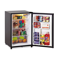 Avanti Counter Height 4.5 Cu. Ft. Refrigerator with Crisper, Black