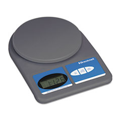 Brecknell Electronic Weight-Only Utility Scale, 11lb Capacity, 5-3/4 Platform