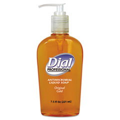 Liquid Dial Liquid Gold Antimicrobial Soap, Floral Fragrance, 7.5 oz Pump Bottle