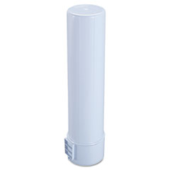Rubbermaid Water Cooler Cup Holder, White, 6/Carton