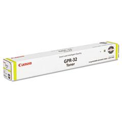 Canon 2803B003AA (GPR-32) Toner, 72,000 Page-Yield, Yellow