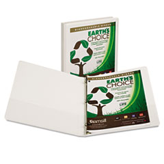 Samsill Earth's Choice Biodegradable Round Ring View Binder, 1/2