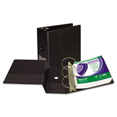 Samsill Clean Touch Antimicrobial Locking Round Ring Binder, 11 x 8-1/2, 5
