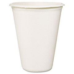 Baumgartens Conserve Sugar Cane Hot Cups, 12oz, White, 50/Pack