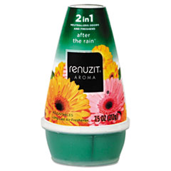 Renuzit Adjustables Air Freshener, After the Rain Scent, Solid, 7 oz