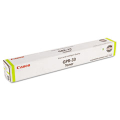 Canon 2804B003AA (GPR-33) Toner, 52,000 Page-Yield, Yellow