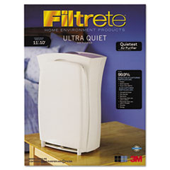 Filtrete Room Air Purifier, 110 sq ft Room Capacity, Three-Speed