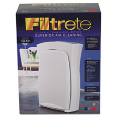 Filtrete Room Air Purifier, 160 sq ft Room Capacity, Three-Speed