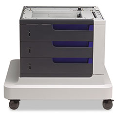 HP Paper Feeder and Stand for LaserJet CP4520 Series, 3 Drawers of 500 Sheets