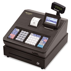 Sharp XE-A207 Cash Register, 2500 LookUps, 99 Dept, 25 Clerk