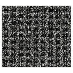 Crown Oxford Wiper Mat, 36 x 60, Black/Gray