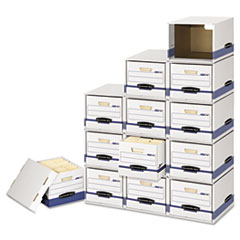 FEL 2162601 Bankers Box Storage Drawers with PRESTO Heavy-Duty Boxes FEL2162601