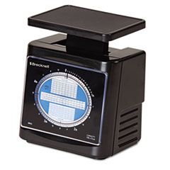 Brecknell Mechanical Postal Scale, 5 lbs Capacity, 6 4/5 x 5 4/5 Platform