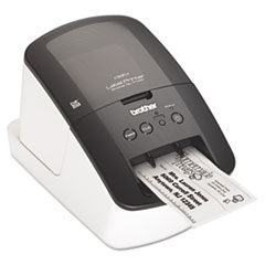 Brother QL-710W Label Printer, 93 Labels/Minute, 5w x 9-3/8d x 6h