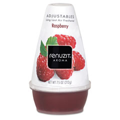 Renuzit Adjustables Air Freshener, Raspberry Scent, Solid, 7.5oz