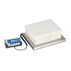 Brecknell LPS400 Portable Shipping Scale, 400lb Capacity, 12 x 15 Platform