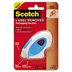 Scotch Label Remover, Blue/White, 1 Remover