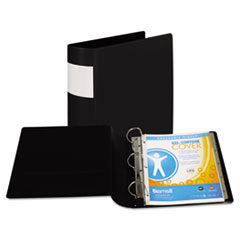 Samsill Top Performance DXL Locking D-Ring Binder With Label Holder, 3
