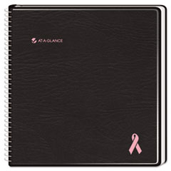 AT-A-GLANCE QuickNotes Special Edition Recycled Monthly Planner, Black, 6 7/8 x 8 3/4, 2014