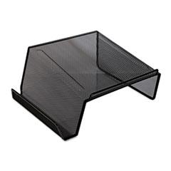 Universal® STAND MESH TELEPHONE BK Mesh Desktop Telephone Stand, Black