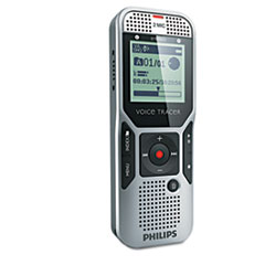 Philips Digital Voice Tracer 1000 Recorder, 2GB