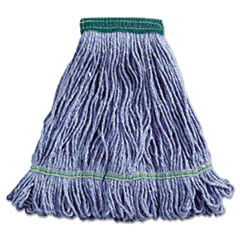 UNISAN Super Loop Wet Mop Head, Cotton/Synthetic, Medium Size, Blue