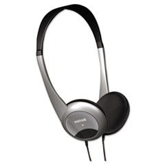 Maxell HP-200 Stereo Headphones, Silver