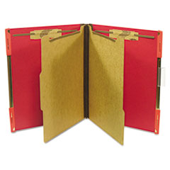 Pressboard Hanging Classification Folder, Letter, Ruby Red