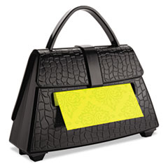 Post-it Pop-up Notes Pop-up Notes Purse Dispenser, 3 x 3 Pad, Black