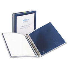 Avery Flexi-View Round-Ring Presentation View Binder, 1/2