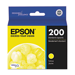 Epson T200420 DURABrite Ultra Ink, Yellow