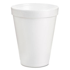 DCC 8J8BG Dart® Foam Drink Cups DCC8J8BG